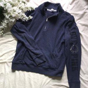 Pink 3/4 Zip Sweater
